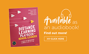 Audio Book Ad The Distance Learning Playbook for School Leaders