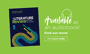 Audio Book Ad The Literature Review