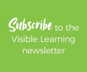 Subscribe to the Visible Learning Plus Newsletter