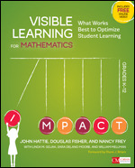 Visible Learning for Mathematics, Grades K-12 Book cover