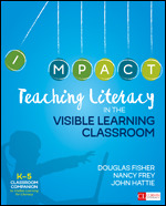 Teaching Literacy in the Visible Learning Classroom, Grades K-5 Book Cover
